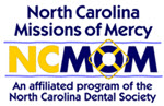 North Carolina Mission of Mercy Dental logo